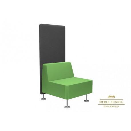 Fotel jedno osobowy Wall in, do jednej ścianki