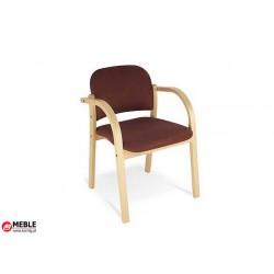 Krzesło drewniane Elva