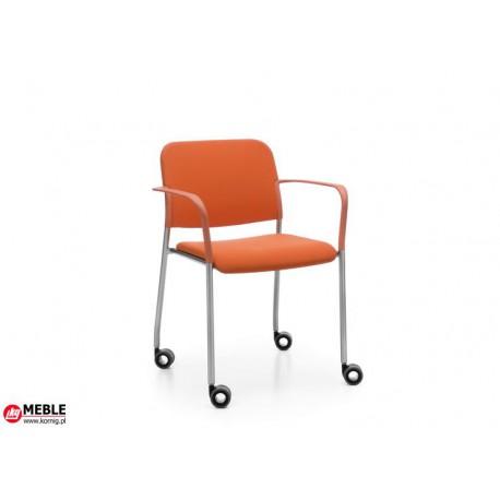 Krzesło Zoo HC kółka 2P