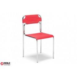 Krzesło Cortessa plastik czerwony