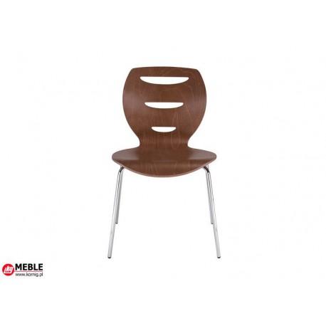 Krzesło Alani sklejka brązowa