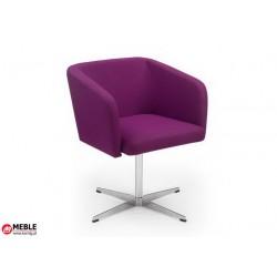 Krzesło Hello! CROSS tkanina fioletowa