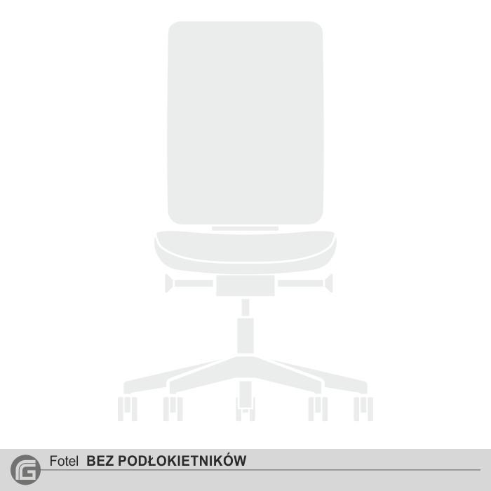 Fotel bez podłokietników