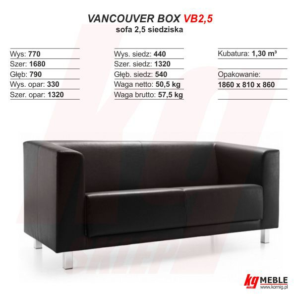 Vancouver Box VB2,5