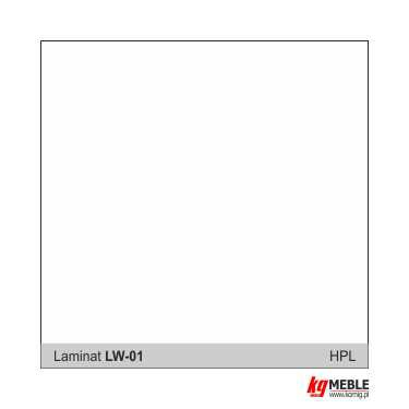 Laminat HPL - biały