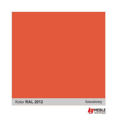 Pomarańczowy RAL 2012