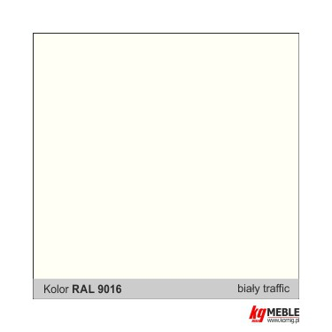 Biały RAL 9016