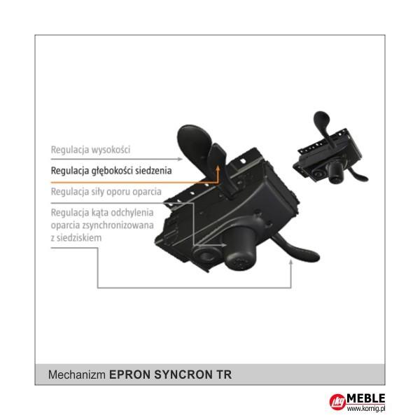 mechanizm Epron Syncron i regulacją głębokości siedziska