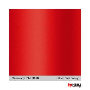 Czerwień RAL 3020
