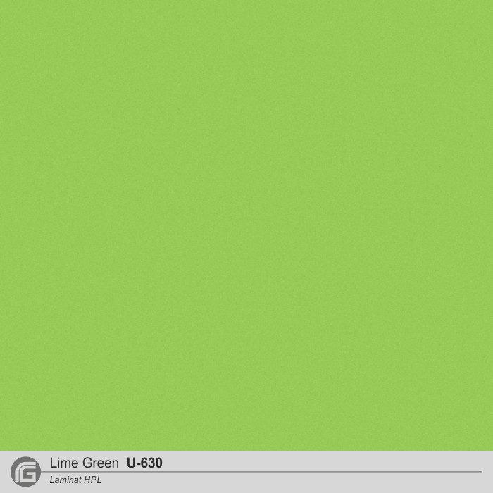 Laminat - U-630 Lime Green