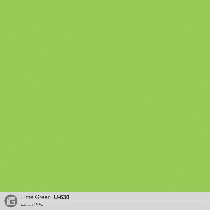 Laminat - U-630 Lime Green