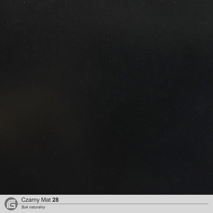 28 Buk - Czarny mat