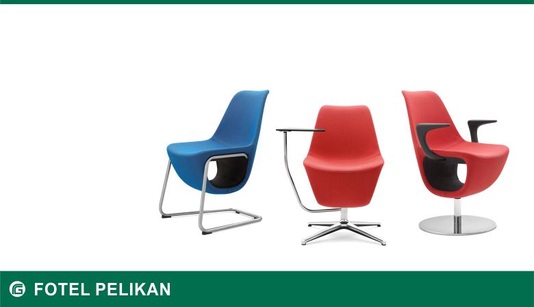 Fotel recepcyjny Pelikan H